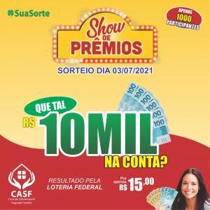 SHOW DE PRÊMIOS